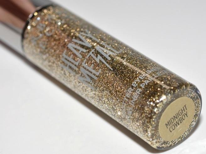 heavy metal glitter liner